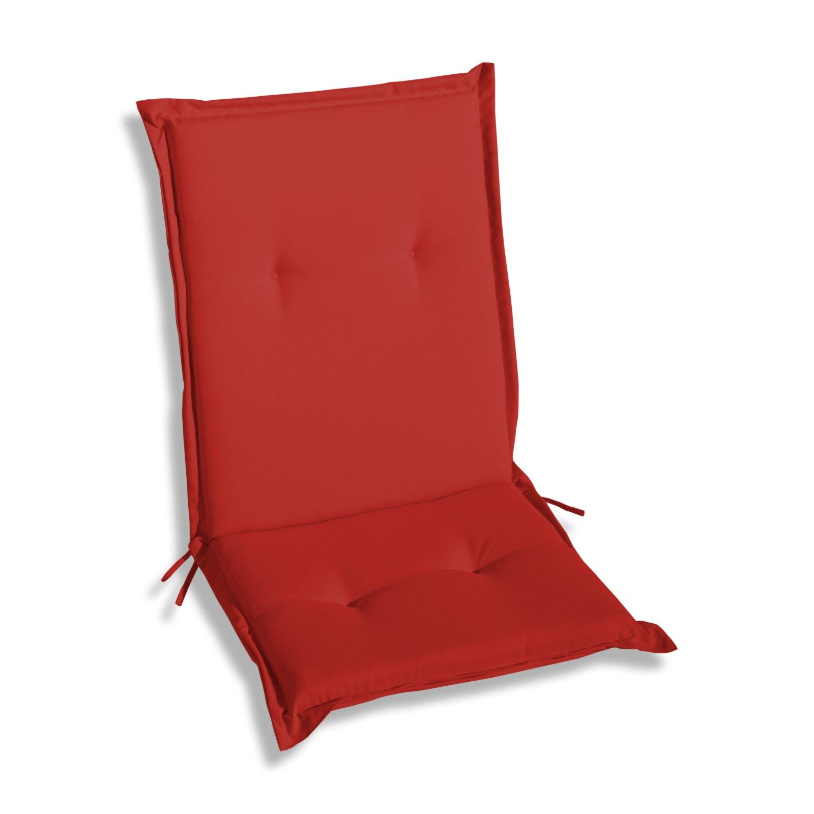 sitzauflage r cken niedrig woody rot auflagen. Black Bedroom Furniture Sets. Home Design Ideas