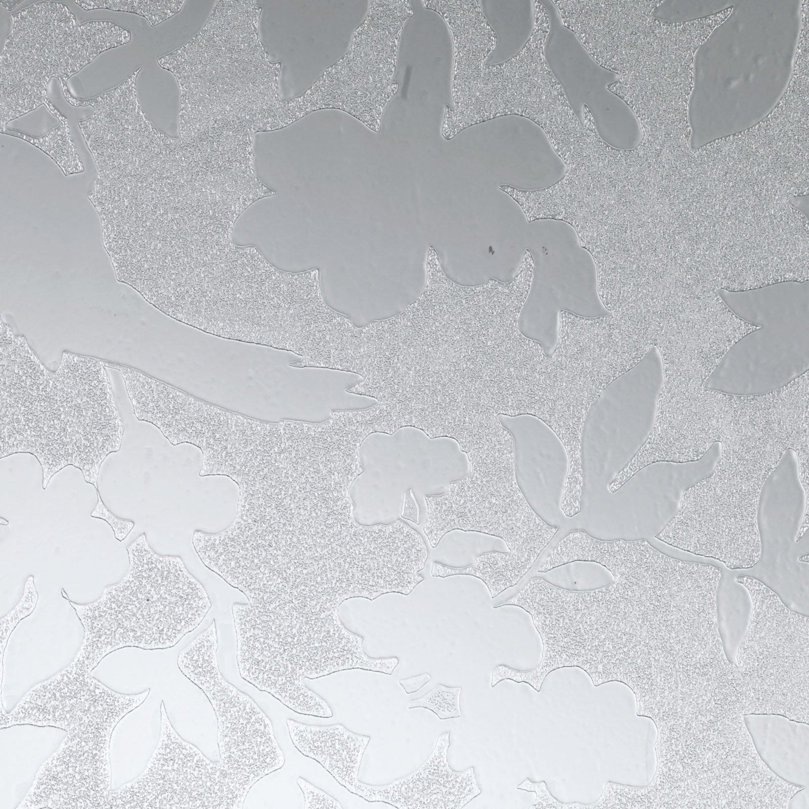 d c fix Glasfolie Blumen Sichtschutz 67 5x150 cm