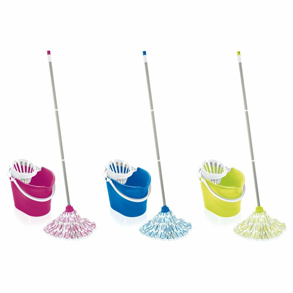 leifheit mop bodenwischer set classic farbig sortiert mop bodenwischer reinigen. Black Bedroom Furniture Sets. Home Design Ideas