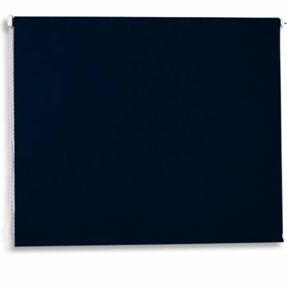 verdunklungsrollo schwarz 160x180 cm. Black Bedroom Furniture Sets. Home Design Ideas