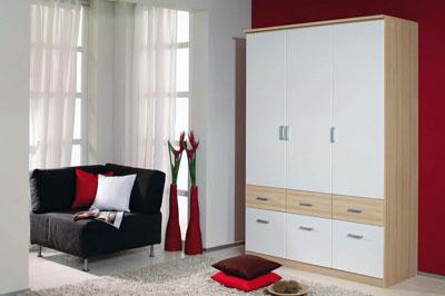 g nstige kleiderschr nke bei roller schr nke g nstig online kaufen. Black Bedroom Furniture Sets. Home Design Ideas