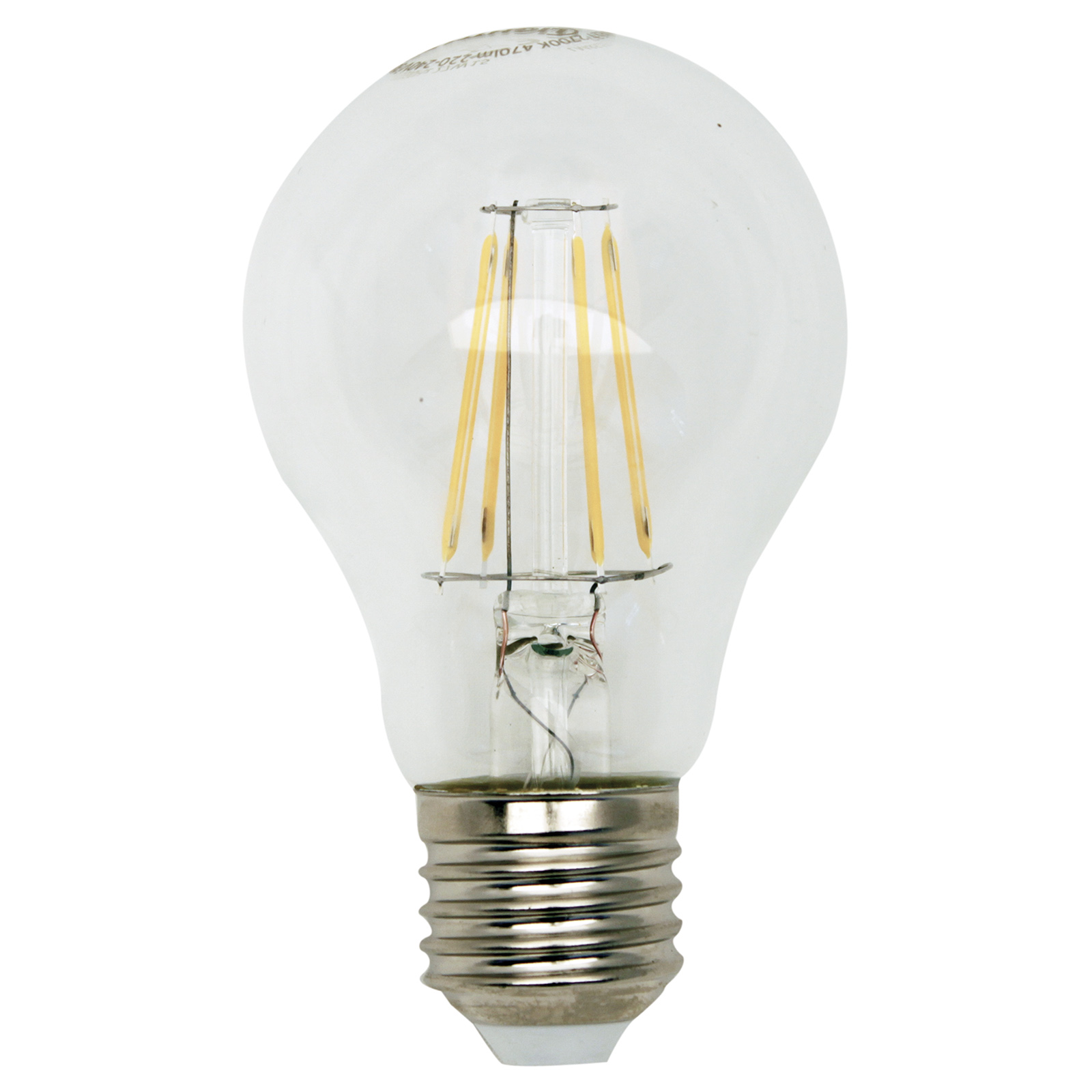 LED-Glühlampe Filament - E27 - 5 Watt - warmweiß
