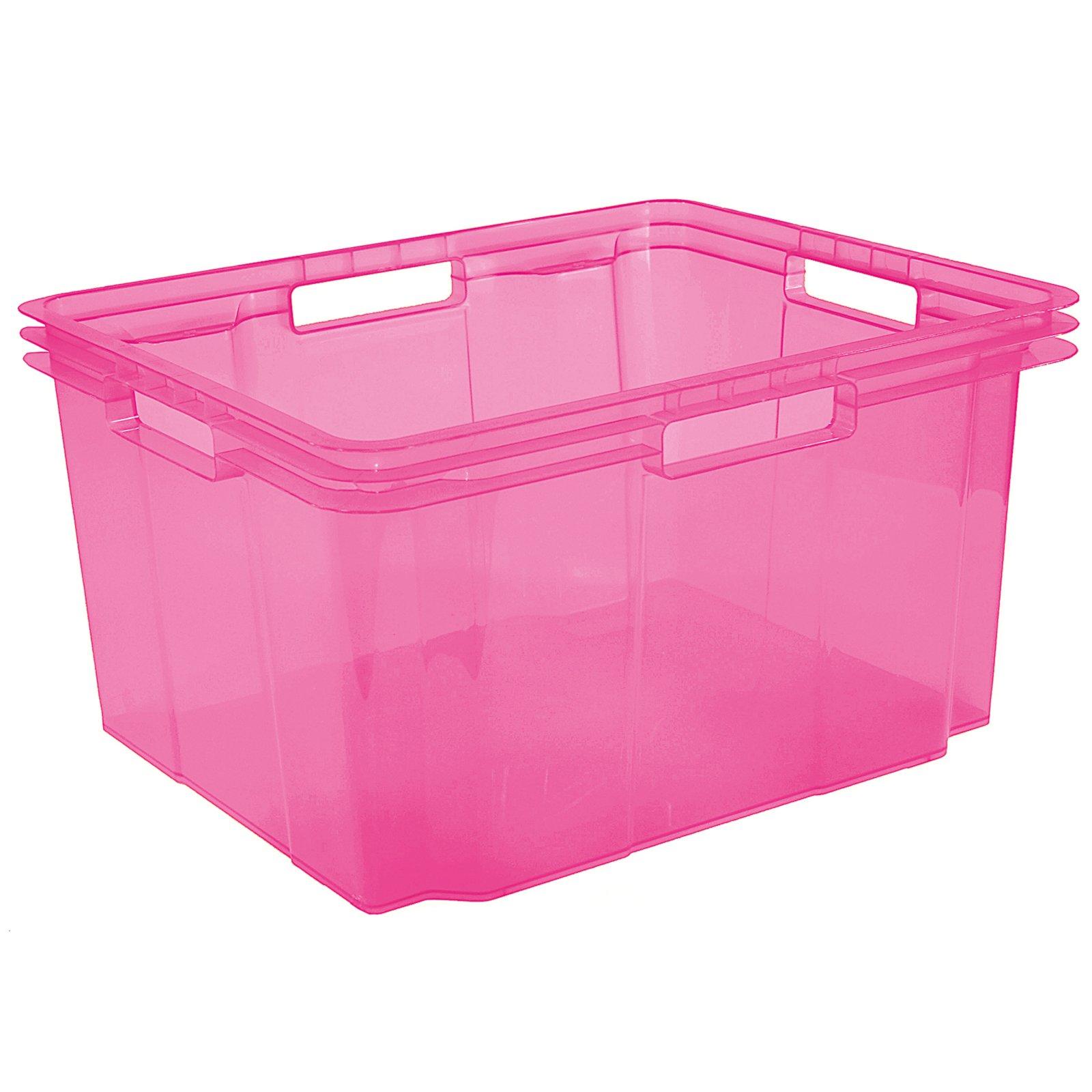 Stapelbox - pink pastell - 26 Liter