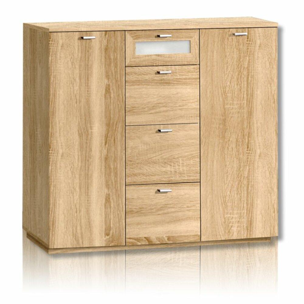 kommode nexus sonoma eiche kommoden sideboards m bel roller m belhaus. Black Bedroom Furniture Sets. Home Design Ideas