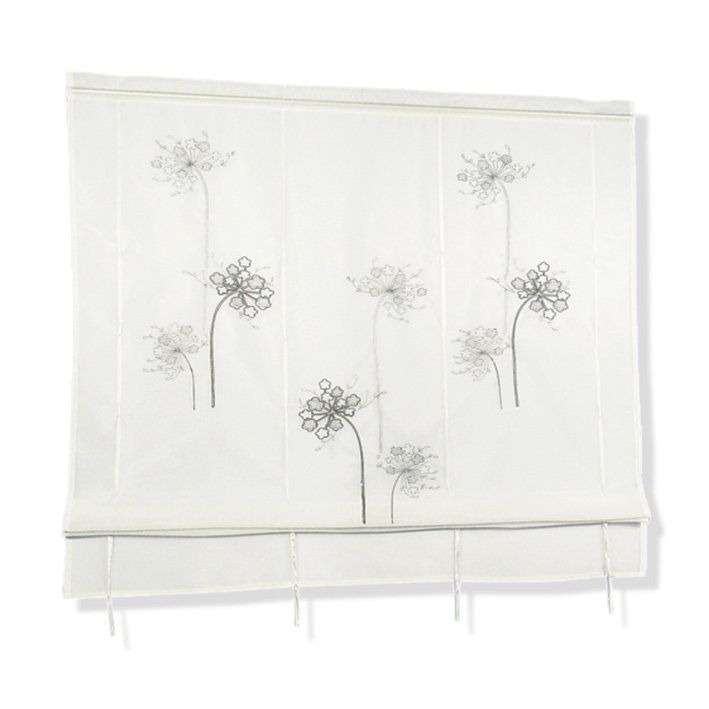 raffrollo natur 80x140 cm transparente raffrollos raffrollos rollos jalousien deko. Black Bedroom Furniture Sets. Home Design Ideas