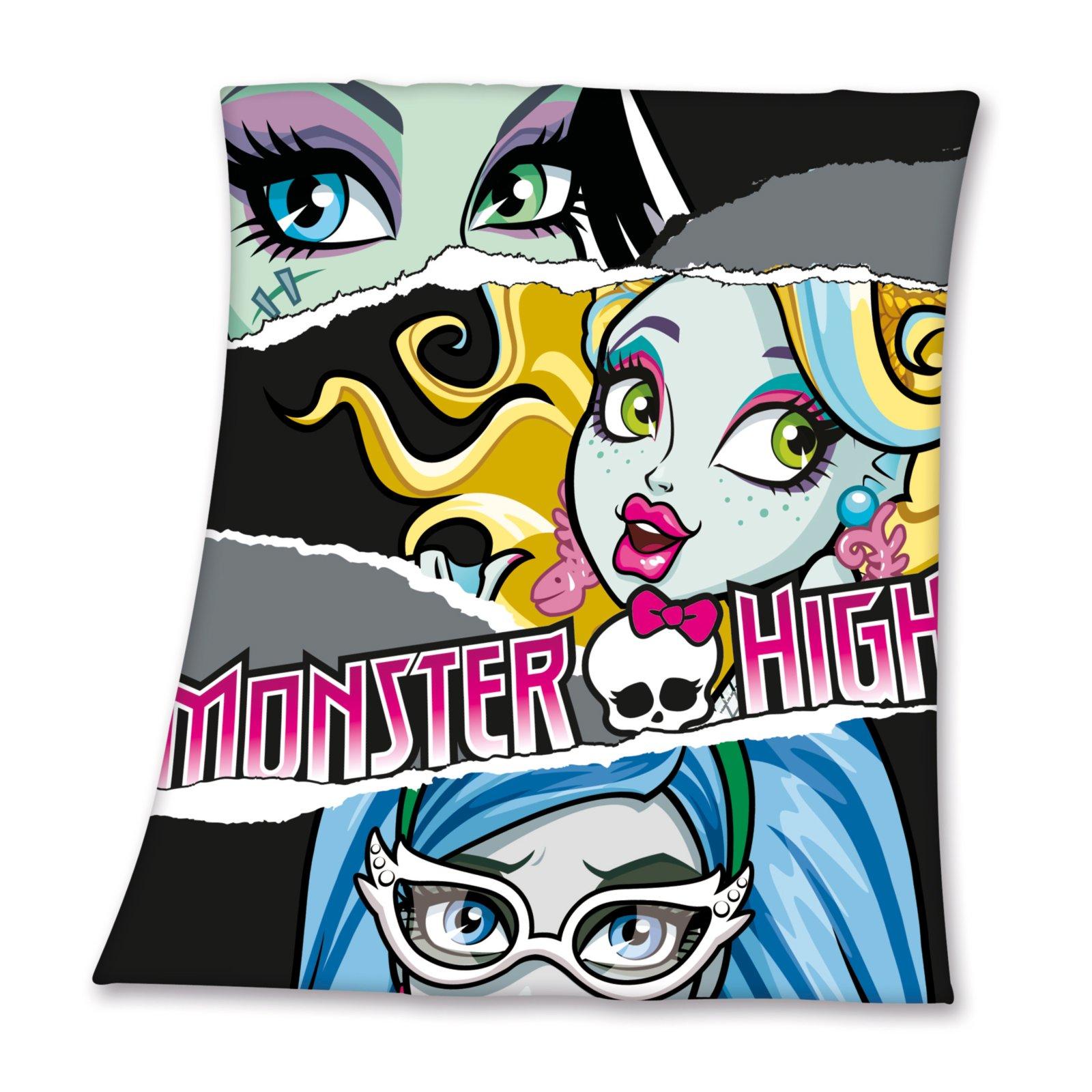 Fleecedecke - Monster High - 125x150 cm