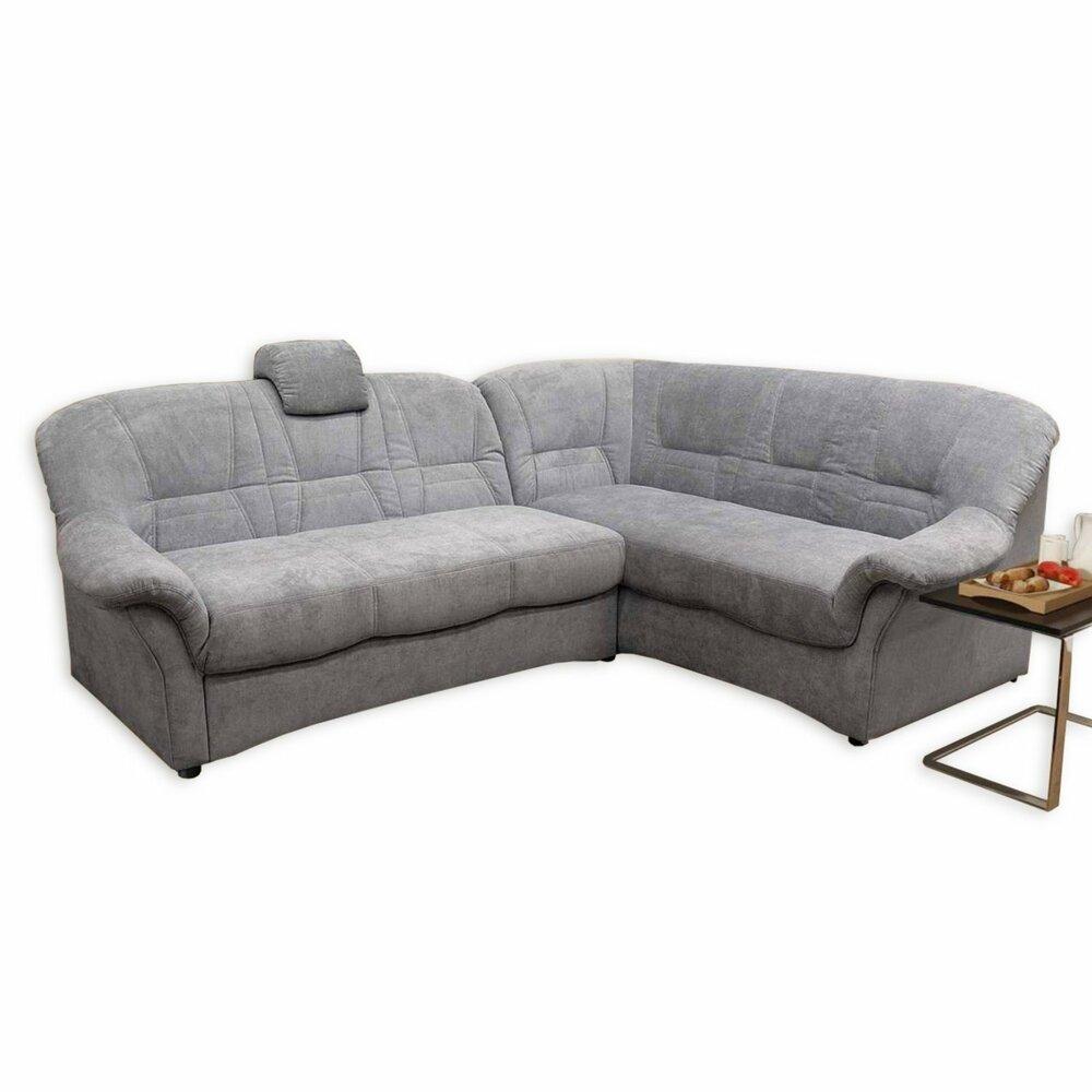 polsterecke beige grau microfaser 3 sitzer links. Black Bedroom Furniture Sets. Home Design Ideas