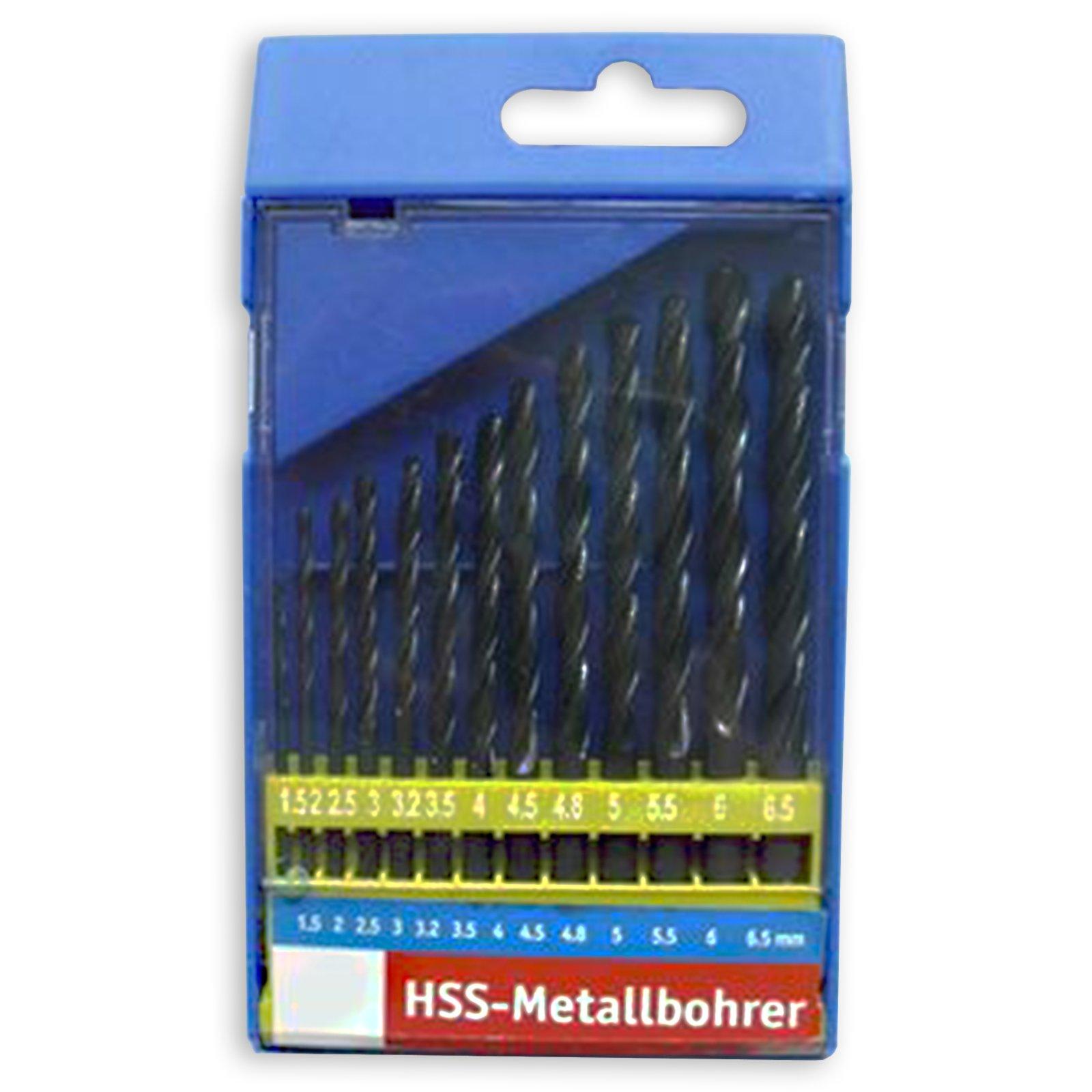 HSS Metallbohrersatz - 13-teilig