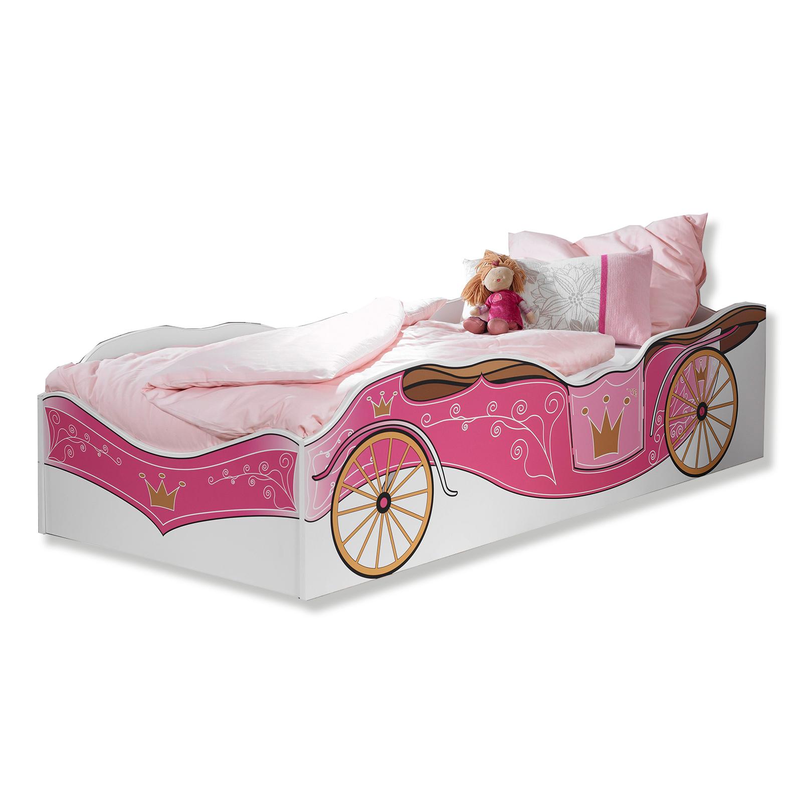 Roller Bett 90x200 : bett wei kutsche 90x200 cm online bei roller kaufen ~ Watch28wear.com Haus und Dekorationen
