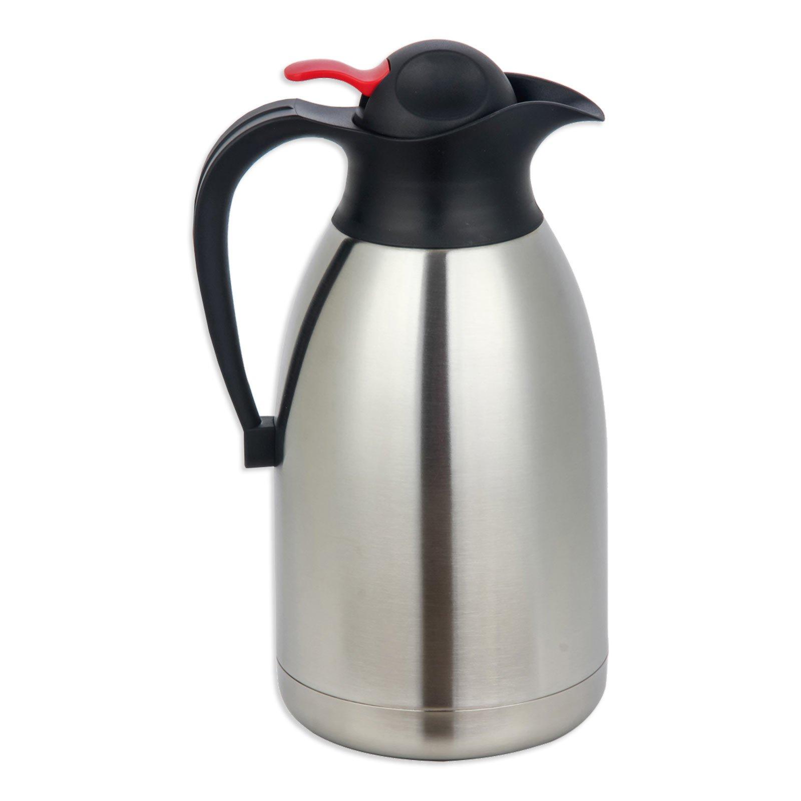 Isolierkanne - Edelstahl - 2 Liter