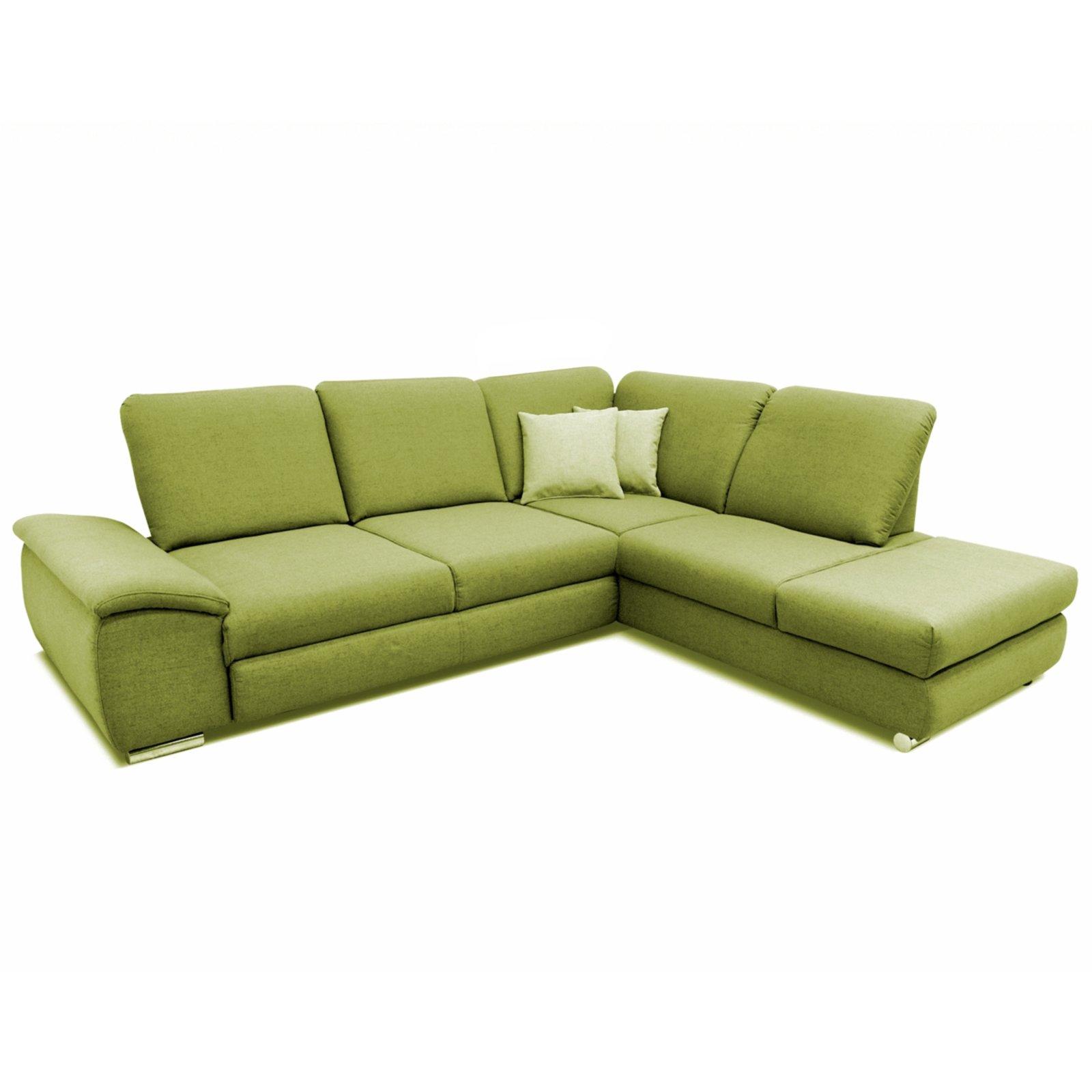 polsterecke gr n sitztiefenverstellung links ecksofas l form sofas couches m bel. Black Bedroom Furniture Sets. Home Design Ideas