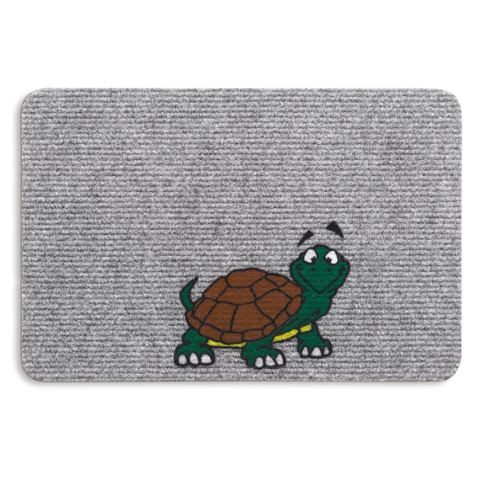 Fußmatte TURTLE - grau - 40x60 cm