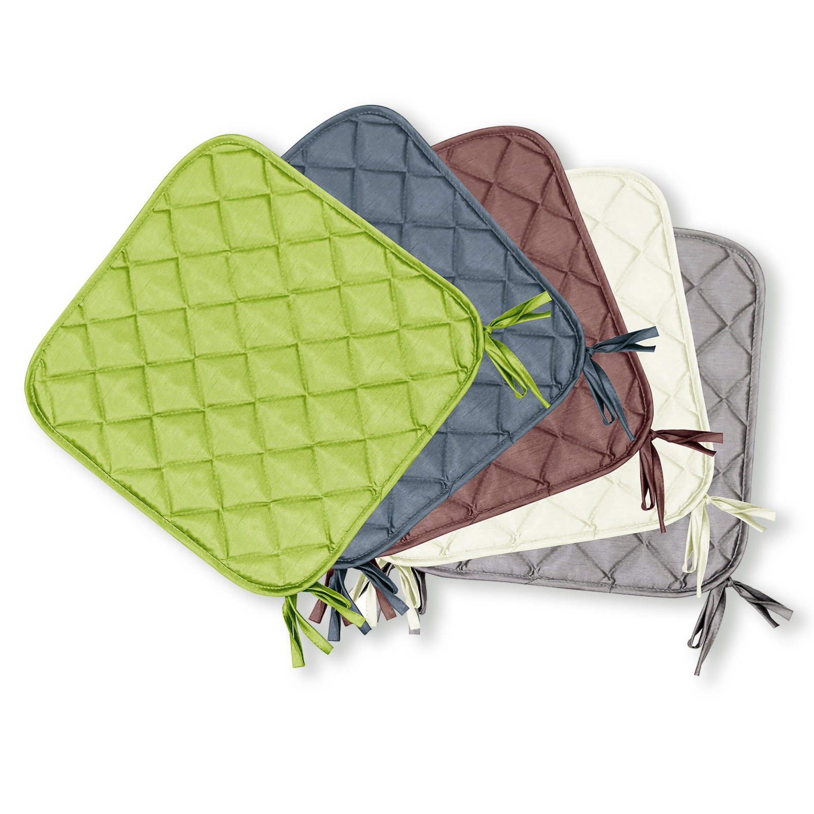 Sitzkissen PURE - farbig sortiert - gesteppt