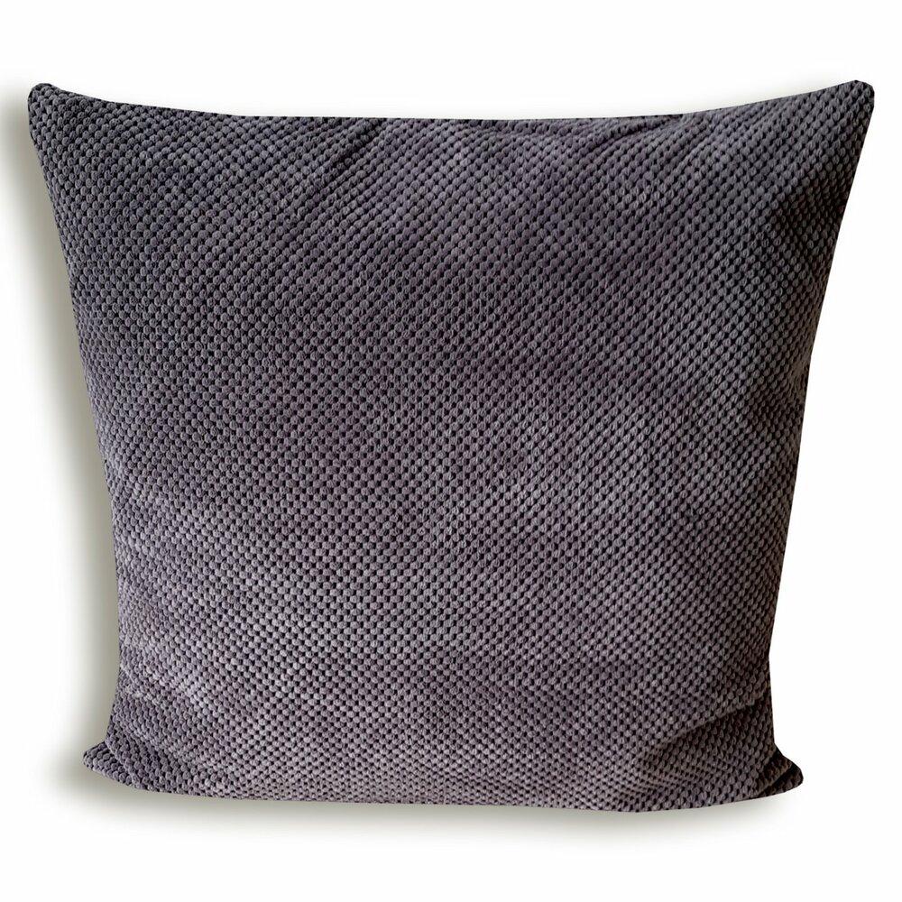 sofakissen life anthrazit 60x60 cm sofakissen kissen deko haushalt m belhaus roller. Black Bedroom Furniture Sets. Home Design Ideas