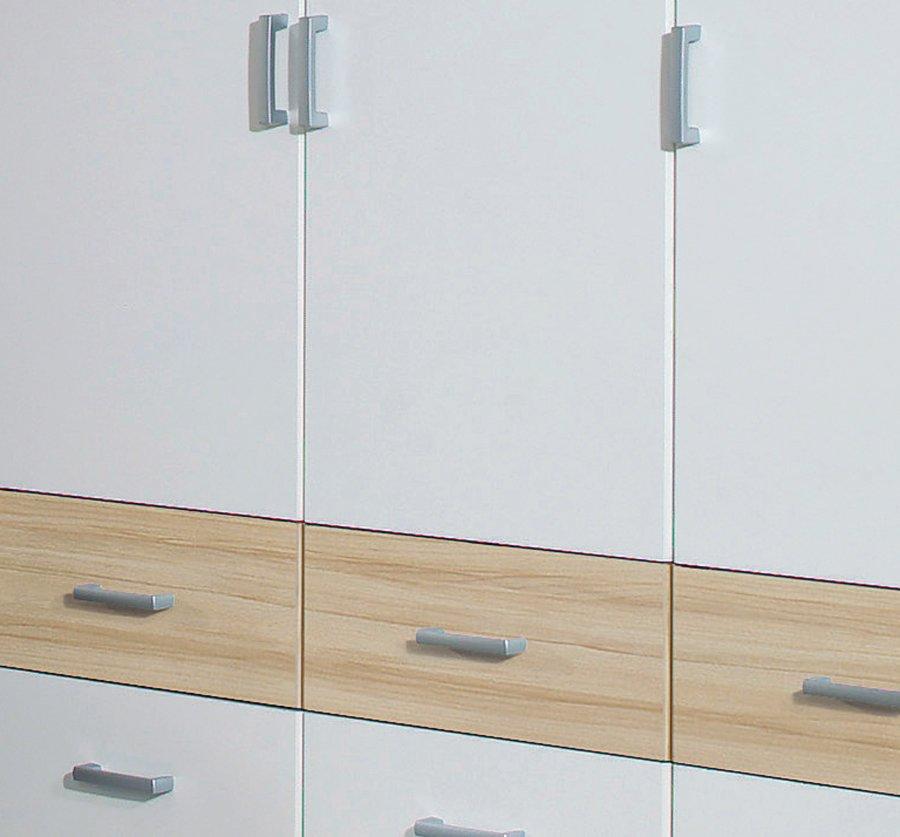 kleiderschrank bremen extra buche wei 136 cm breit ebay. Black Bedroom Furniture Sets. Home Design Ideas