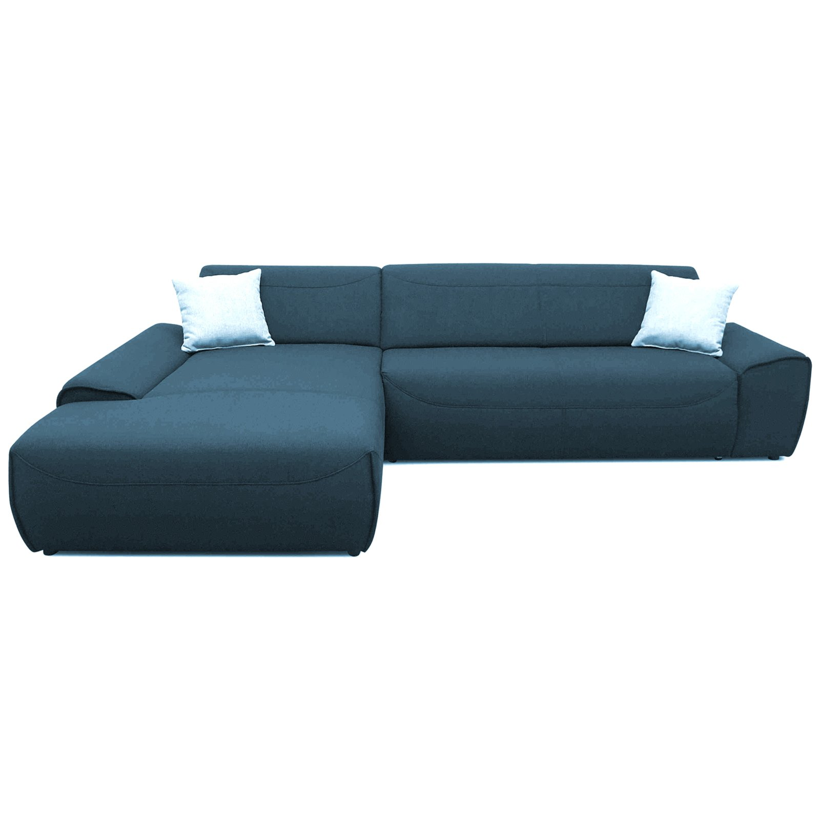 Ecksofa petrol recamiere links ecksofas l form for Ecksofa 3 00 m