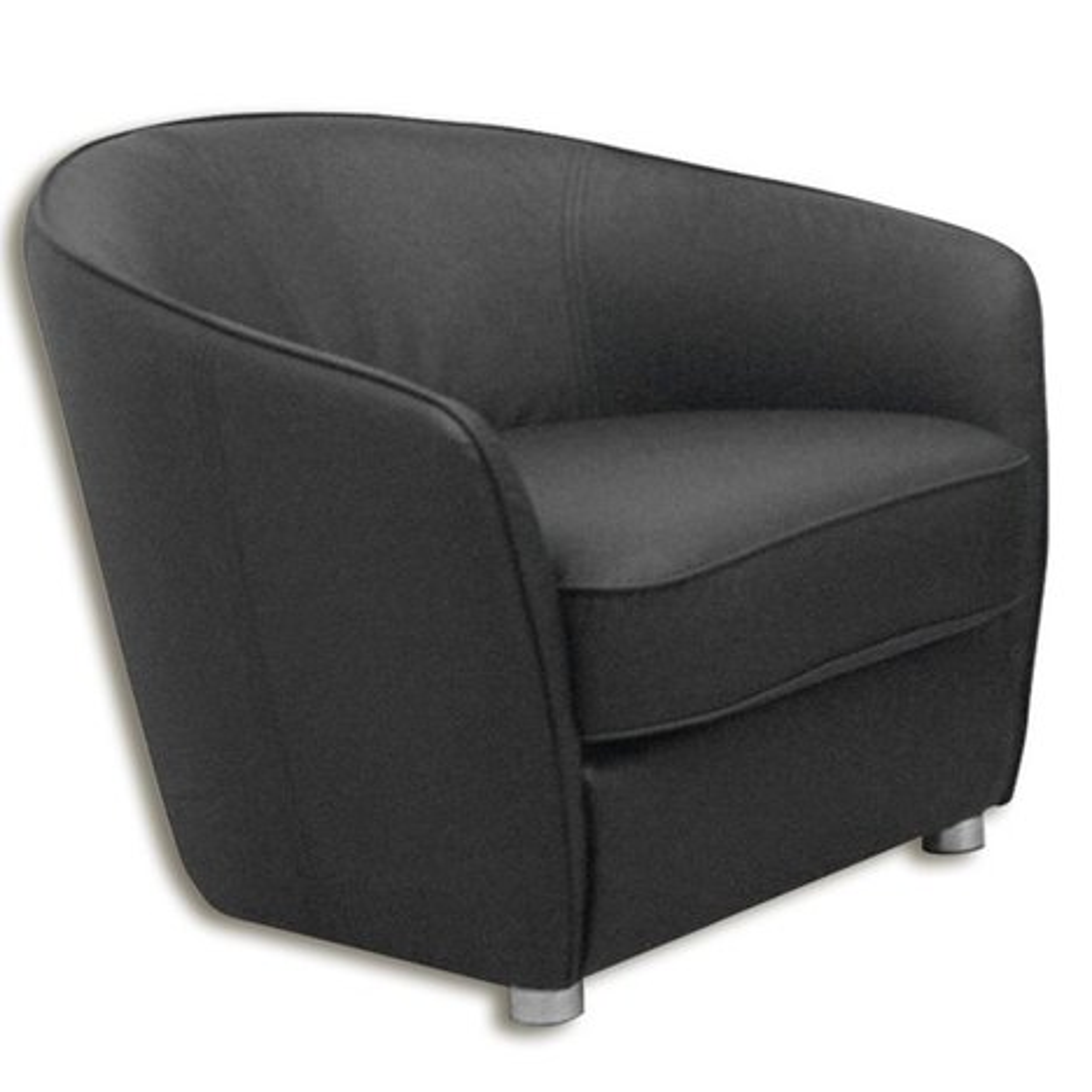 sessel schlamm grau kunstlederangebot bei roller kw. Black Bedroom Furniture Sets. Home Design Ideas