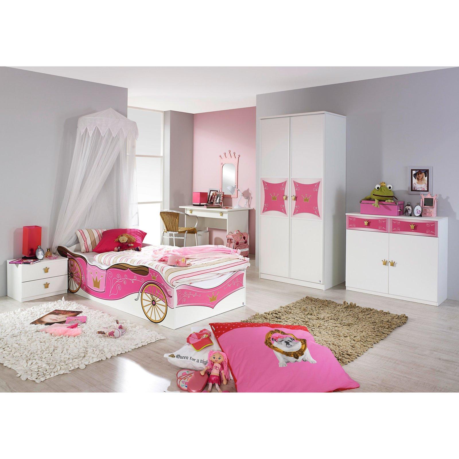 bett kate wei kutsche 90x200 cm 4038283014359 ebay. Black Bedroom Furniture Sets. Home Design Ideas