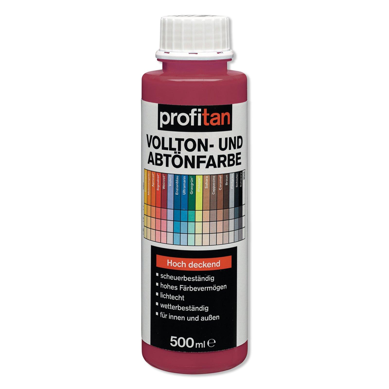 profitan Vollton- und Abtönfarbe - weinrot - 500 ml