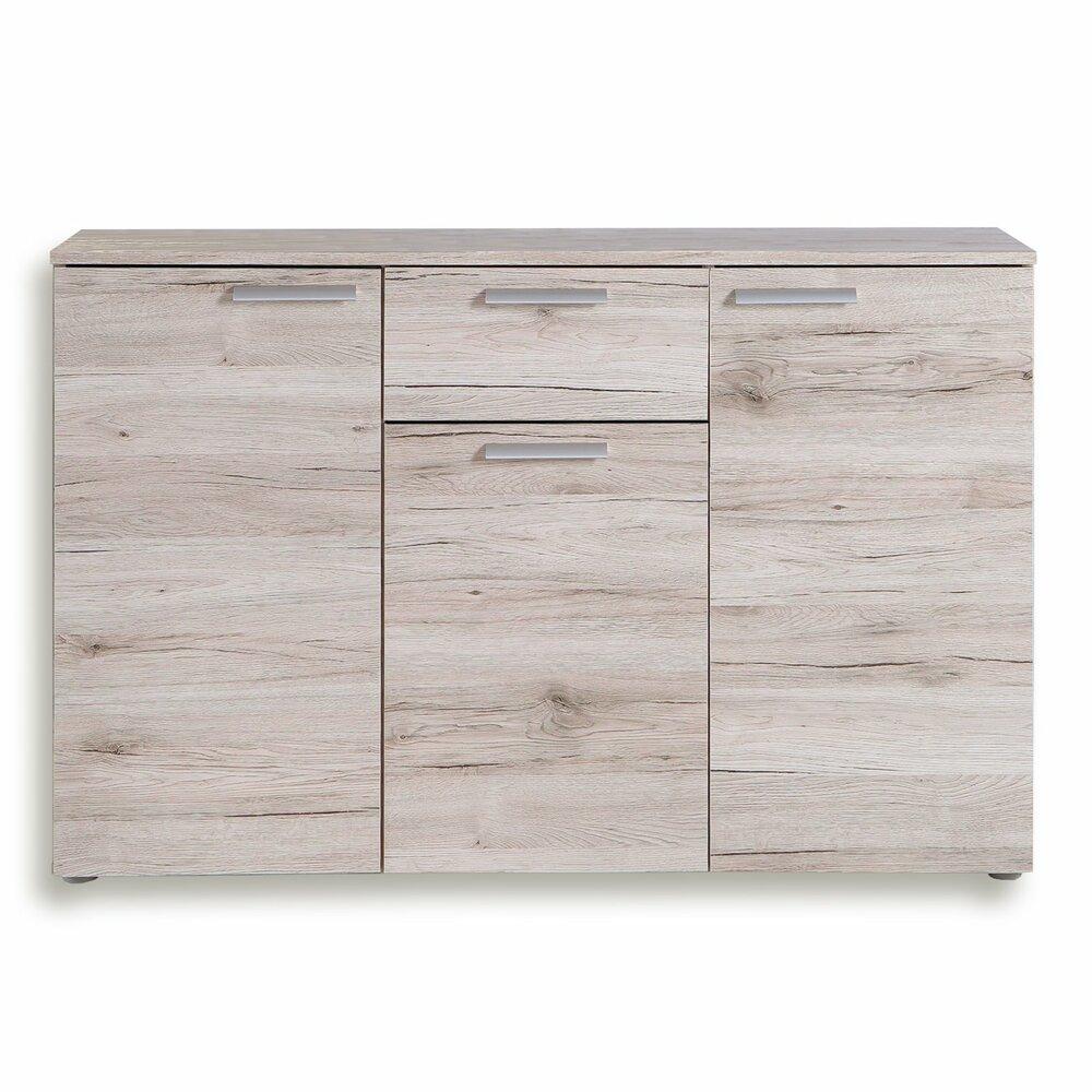 sideboard pablo sandeiche 120 cm breit wohnprogramm pablo wohnprogramme wohnzimmer. Black Bedroom Furniture Sets. Home Design Ideas