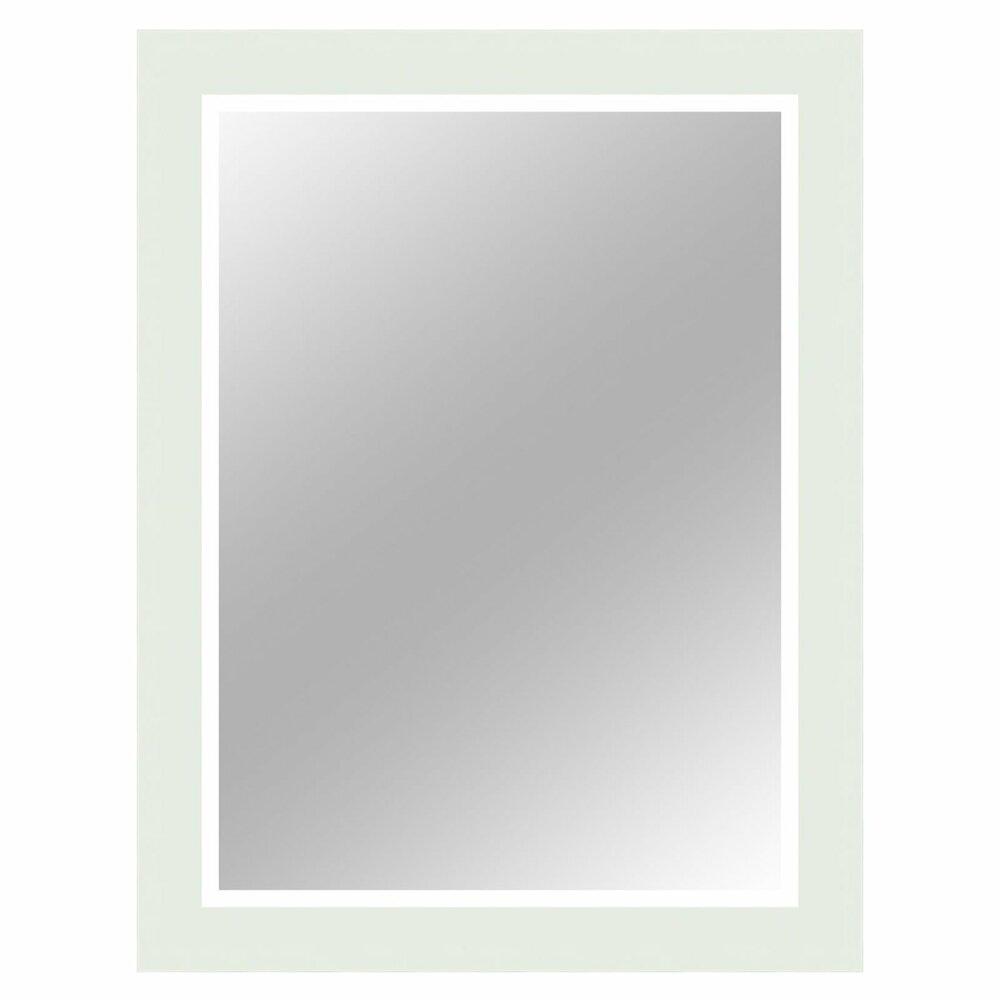 wandspiegel paris wei hochglanz 67x87 cm wandspiegel spiegel deko haushalt roller. Black Bedroom Furniture Sets. Home Design Ideas