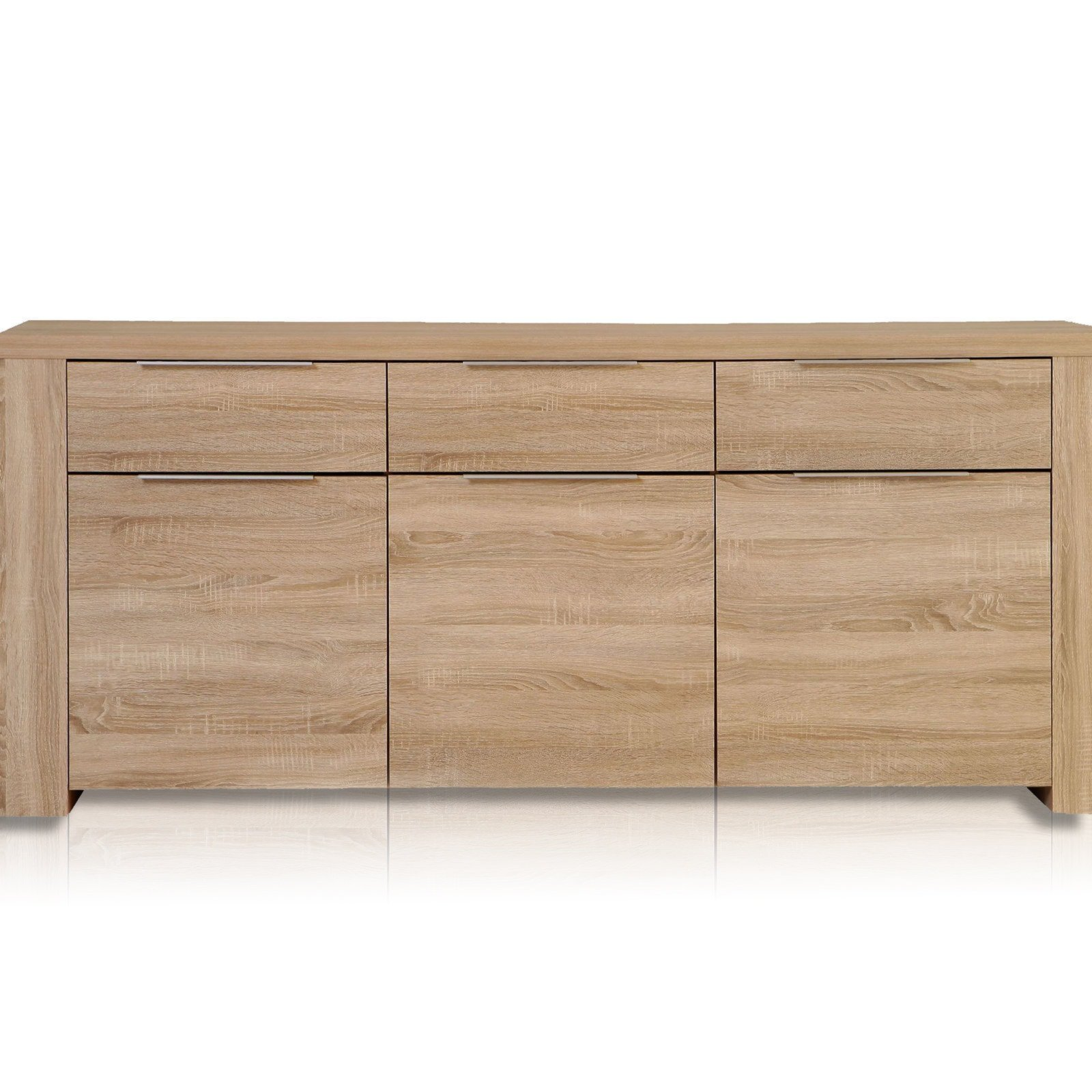 sideboard calpe sonoma eiche kommoden sideboards. Black Bedroom Furniture Sets. Home Design Ideas