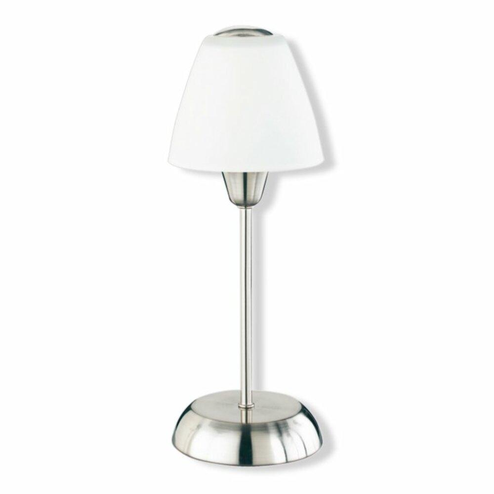 Tischleuchte touch ber hrungsdimmer wei tischlampen for Lampen roller