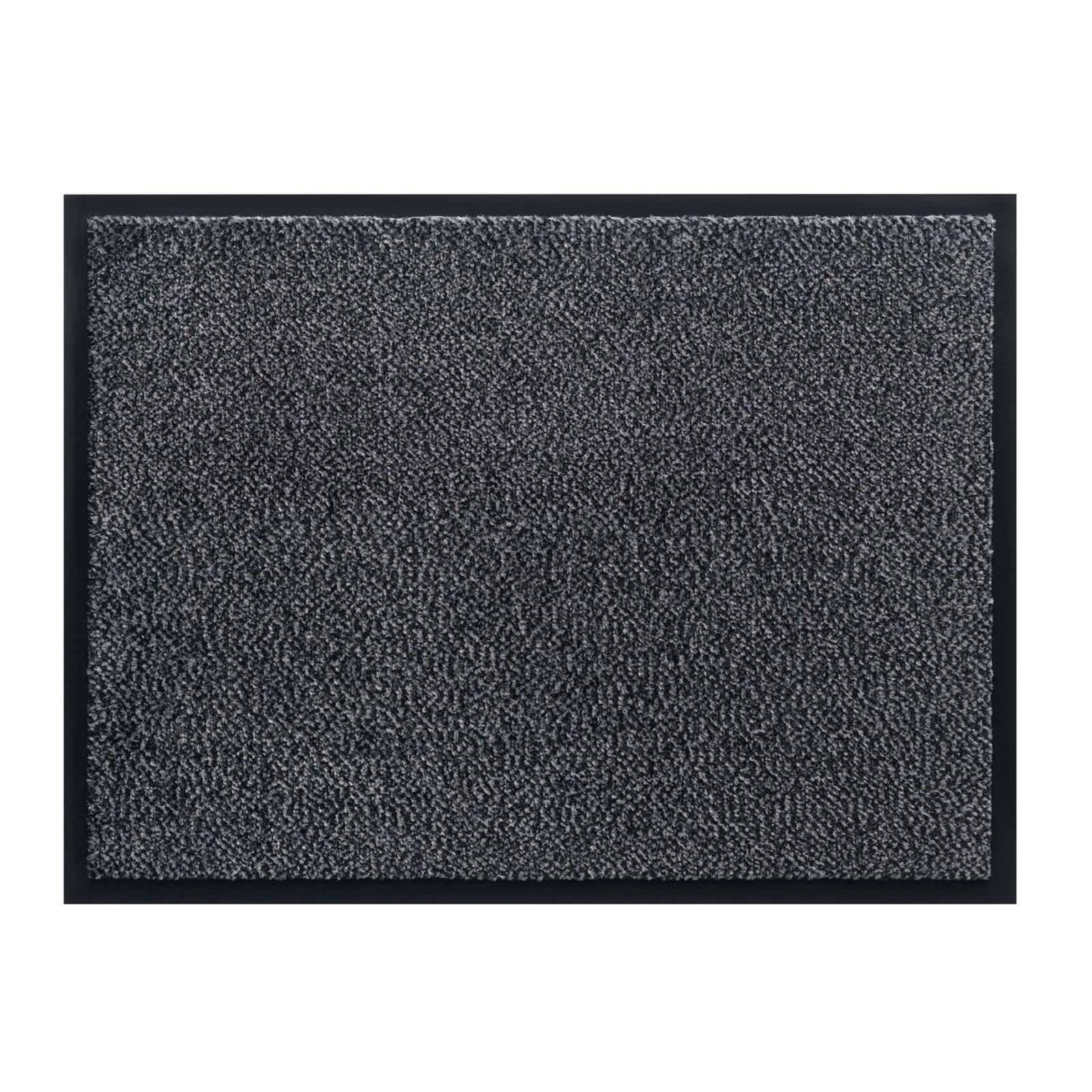 fu matte mars anthrazit 80x120 cm fu matten flur diele wohnbereiche m belhaus roller. Black Bedroom Furniture Sets. Home Design Ideas