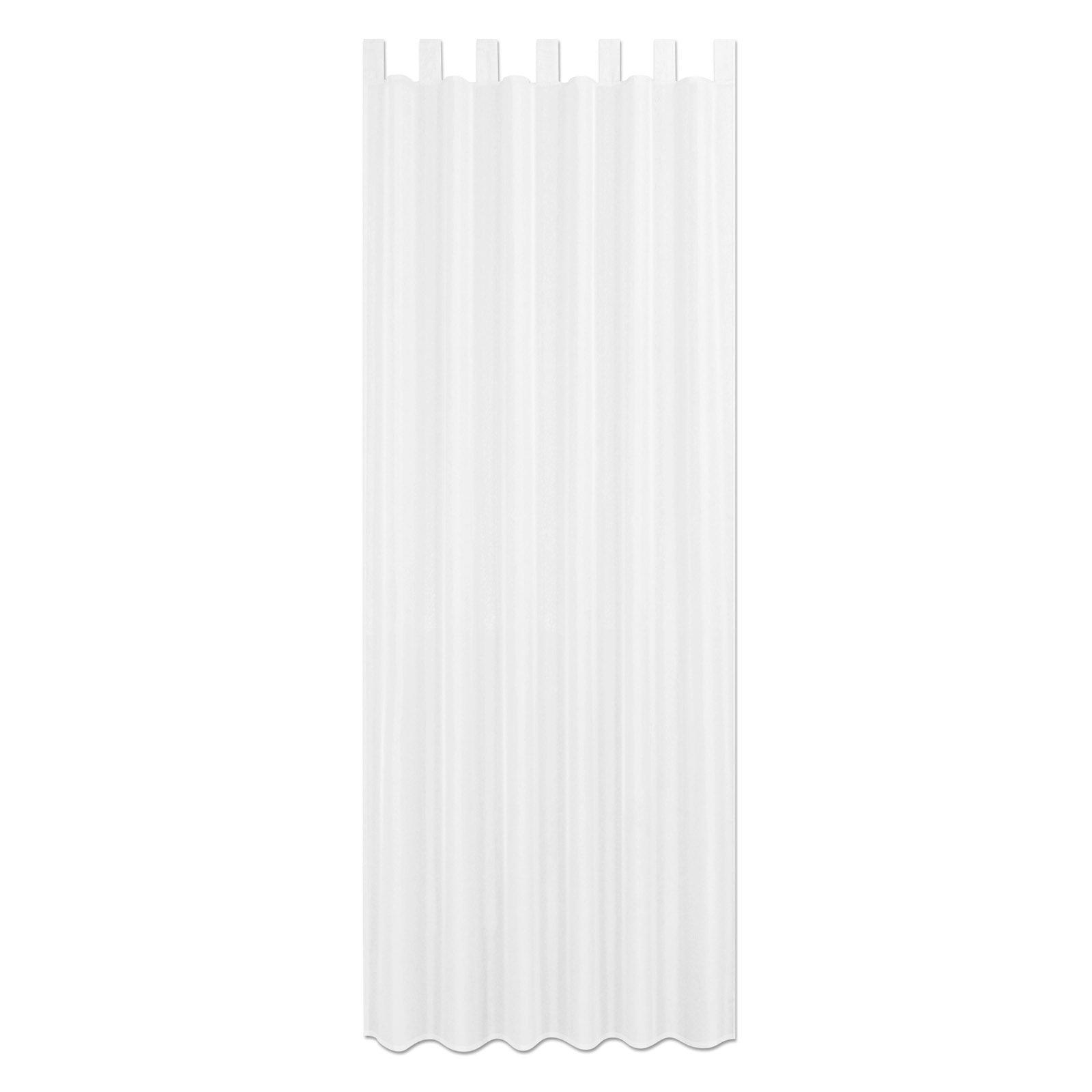 Schlaufenschal ALSTER - weiß - 140x235 cm