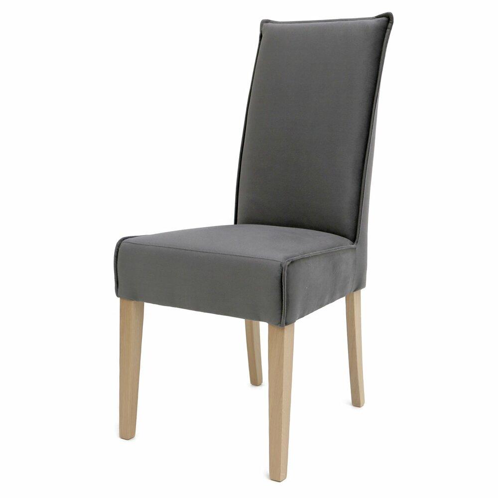 polsterstuhl kira anthrazit eiche bianco massiv. Black Bedroom Furniture Sets. Home Design Ideas