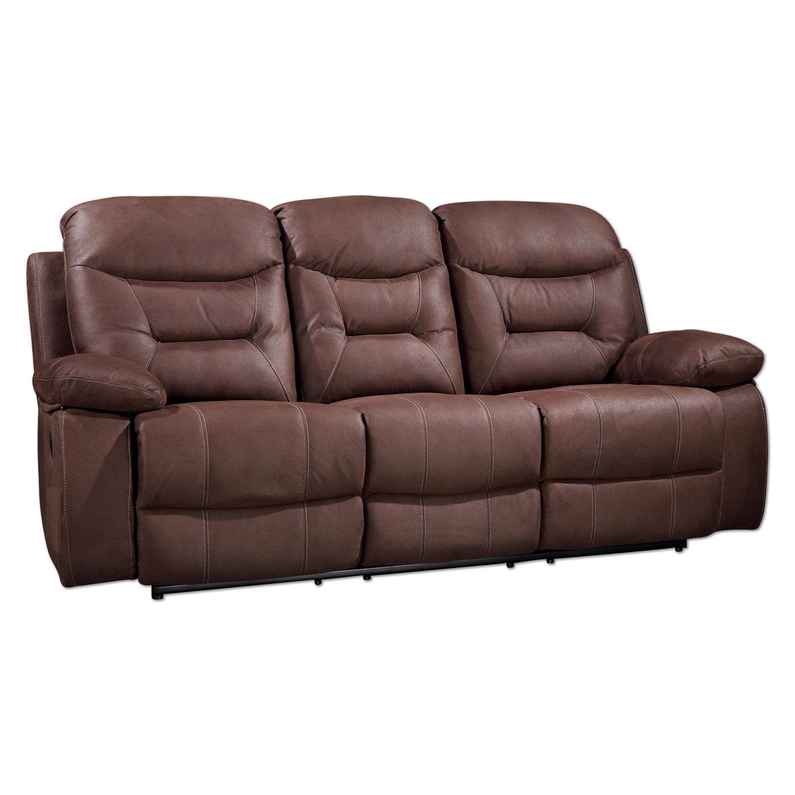 3 Sitzer Sofa braun Relaxfunktion