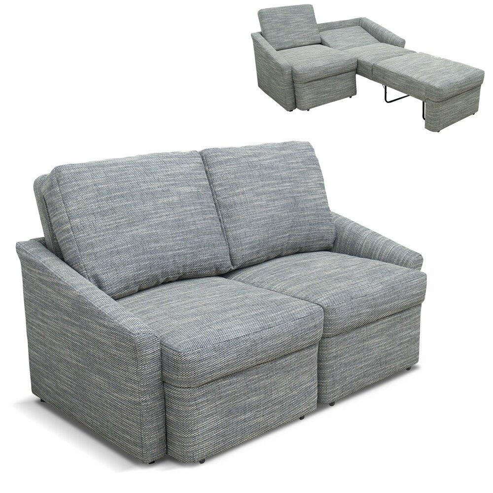 2 sitzer boxspringsofa grau wei mit liegefunktion boxspringsofas sofas couches. Black Bedroom Furniture Sets. Home Design Ideas
