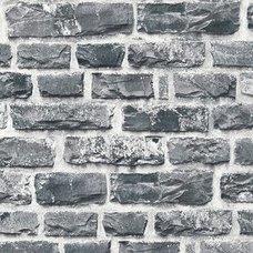 A.S. Creation Vliestapete NEUE BUDE 2.0   Grau   Stein   10 Meter
