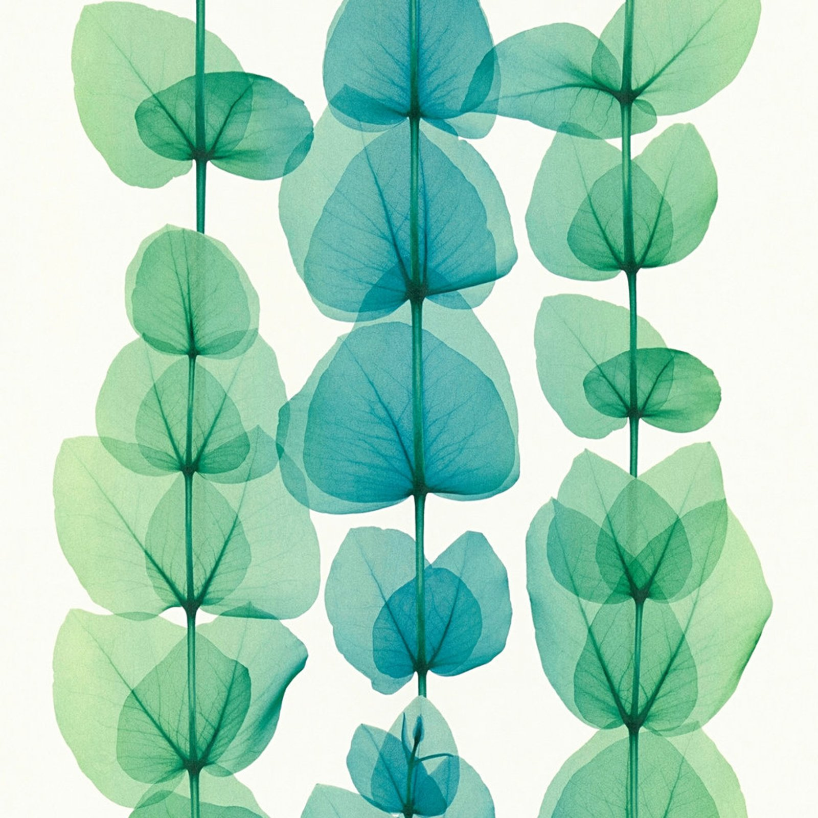 A.S. Creation Vliestapete X-RAY - Blätter - beige-grün metallic - 10 Meter