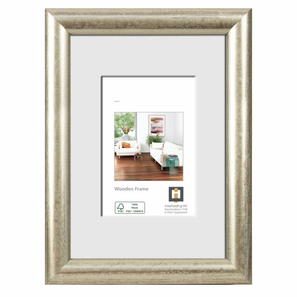 bilderrahmen paris silber holz 10x15 cm bilderrahmen dekoration deko haushalt. Black Bedroom Furniture Sets. Home Design Ideas