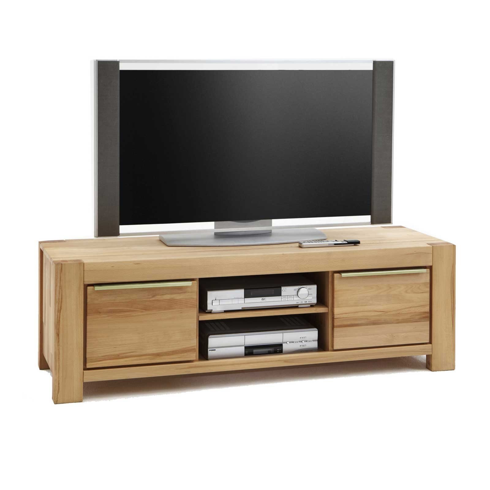 lowboard nena kernbuche massivholz 155 cm tv lowboards tv b nke tv hifi m bel m bel. Black Bedroom Furniture Sets. Home Design Ideas