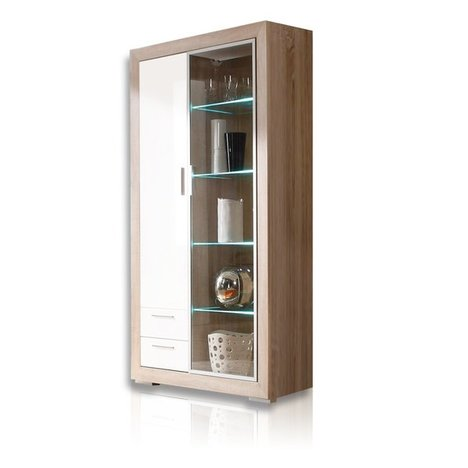 roller vitrine fernando regal schrank ebay. Black Bedroom Furniture Sets. Home Design Ideas