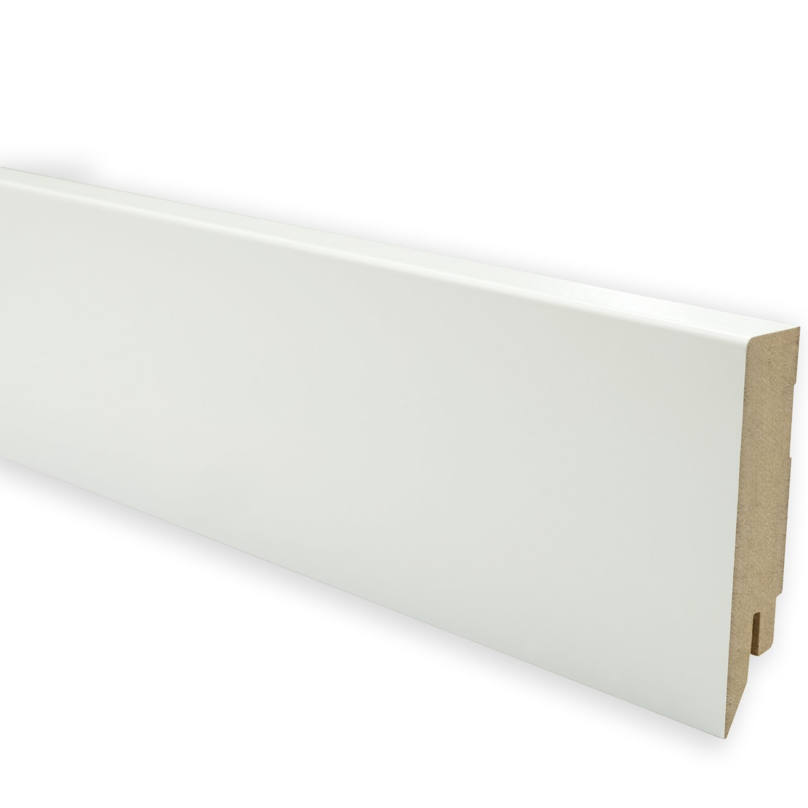 Bekannt Sockelleiste - weiß - 80 mm hoch | Online bei ROLLER kaufen AH78