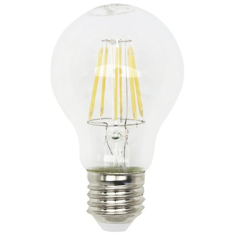 LED-Glühlampe Filament LIGHTME - E27 - 7,5 Watt - warmweiß