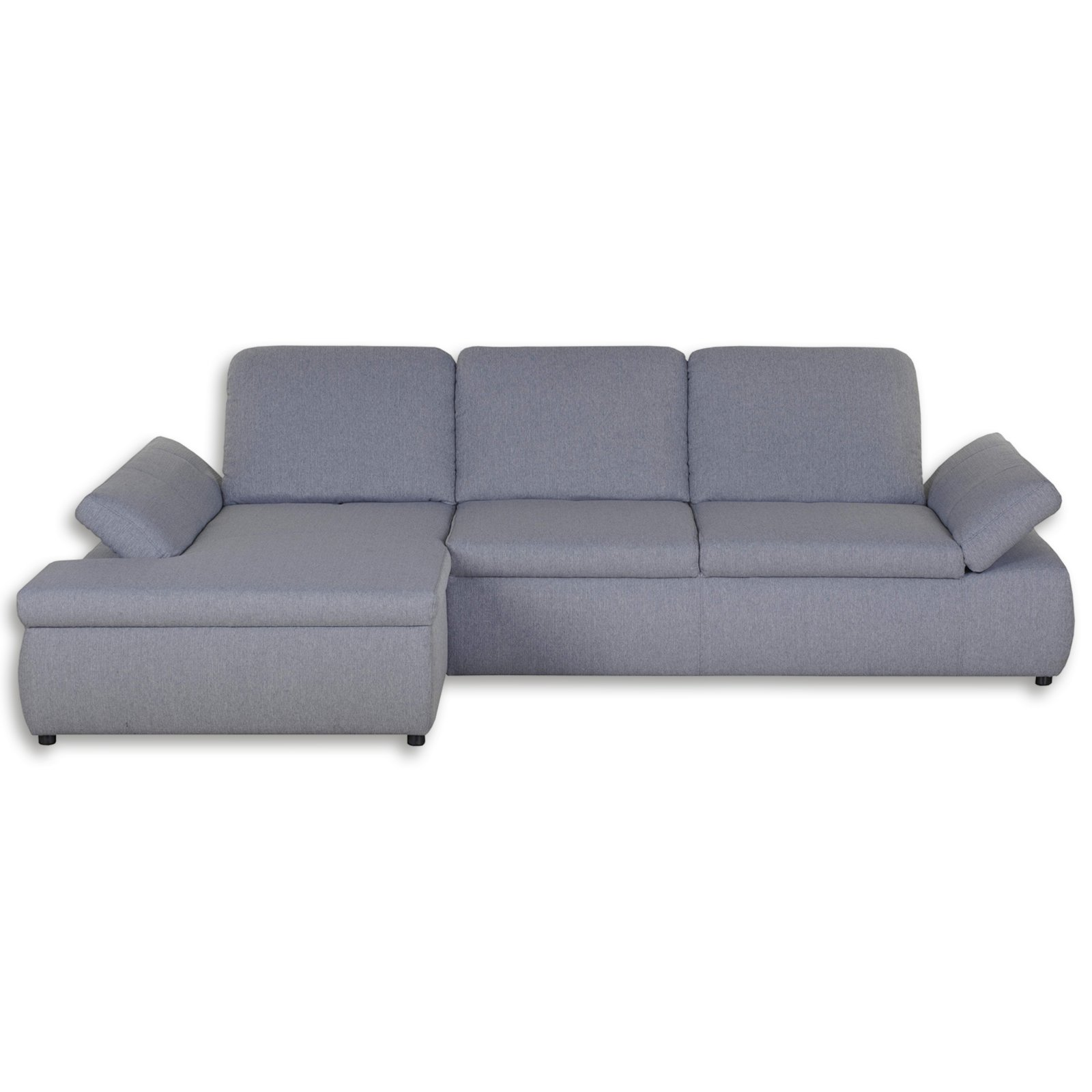boxspringsofa grau mit funktion recamiere links ecksofas l form sofas couches. Black Bedroom Furniture Sets. Home Design Ideas