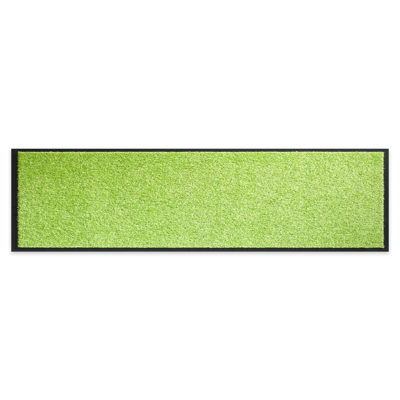Fußmatte TWISTER - lime - 180x60 cm