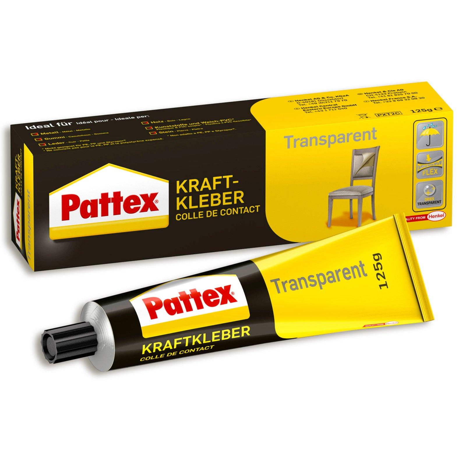 Pattex Kraftkleber - transparent - 125 g