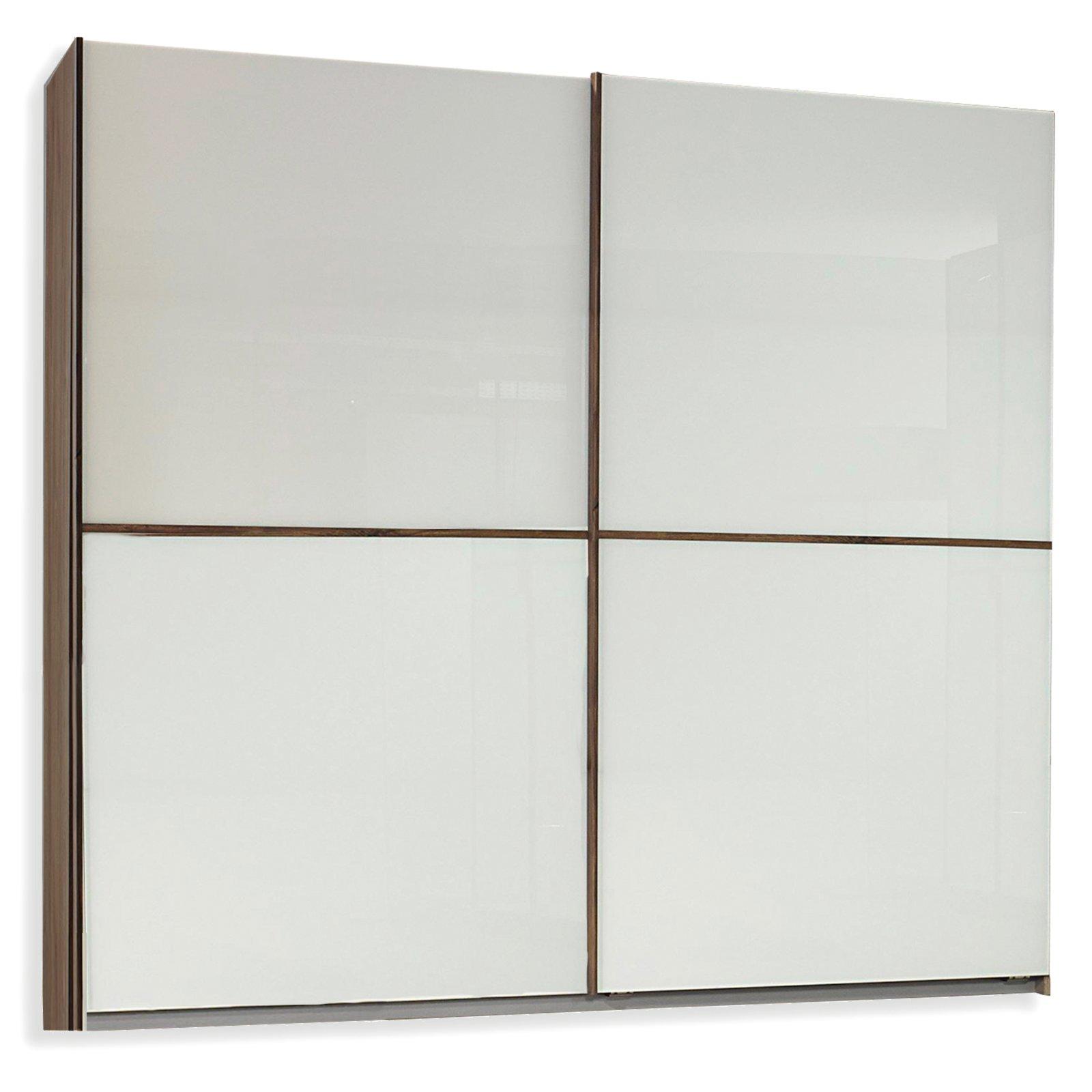 schwebet renschrank essensa eiche sirling wei glas. Black Bedroom Furniture Sets. Home Design Ideas