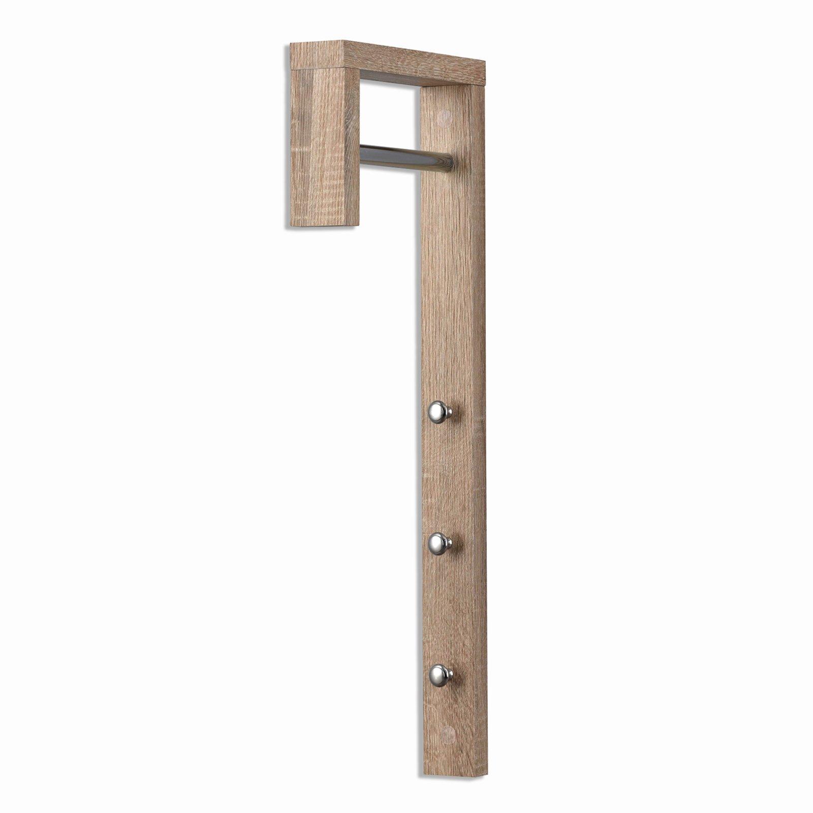 Garderobe HOOK - Sonoma Eiche - 70 cm