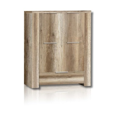Highboard CALPE - Eiche Antik - 134 cm