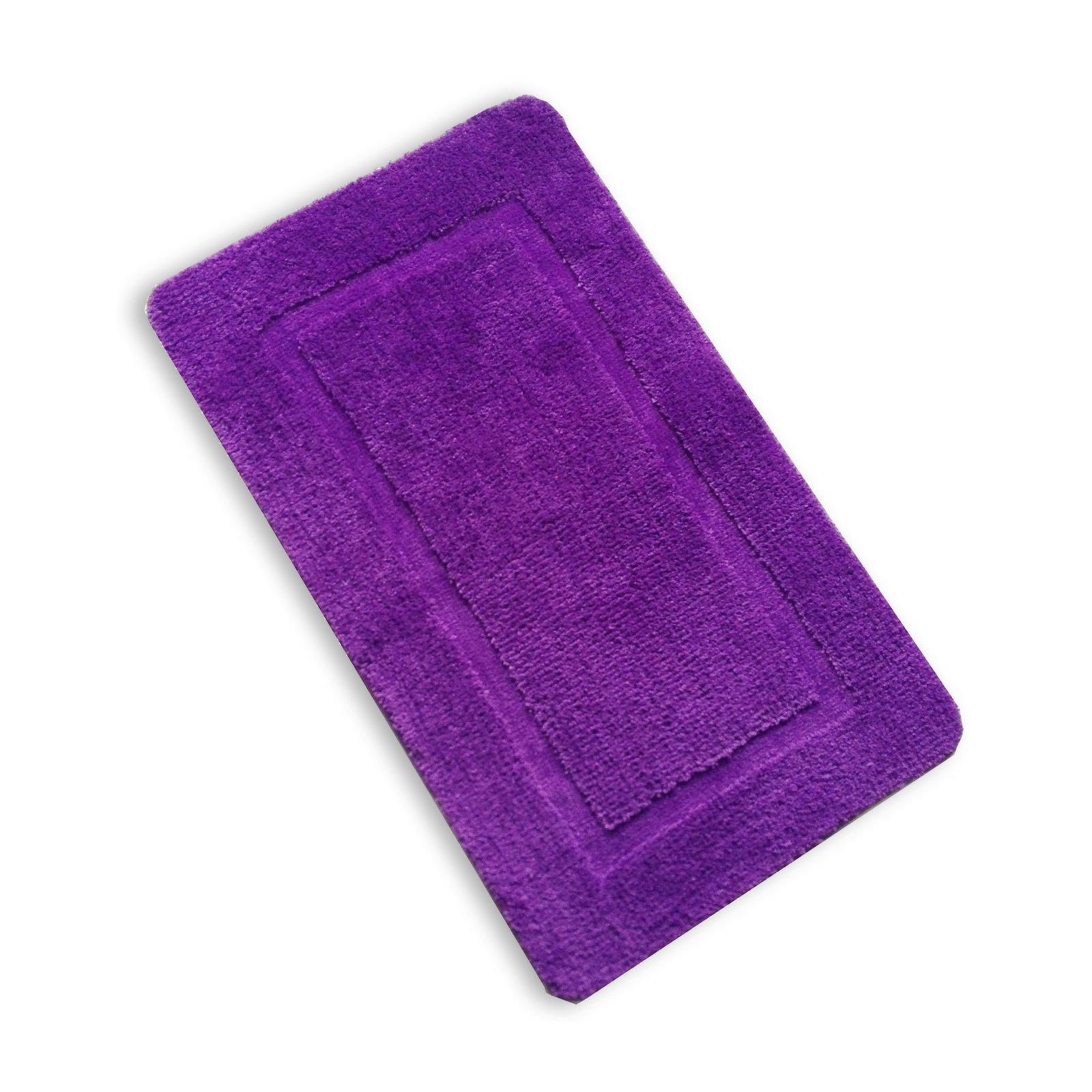 badteppich lilac lila 60x100 cm badteppiche matten. Black Bedroom Furniture Sets. Home Design Ideas