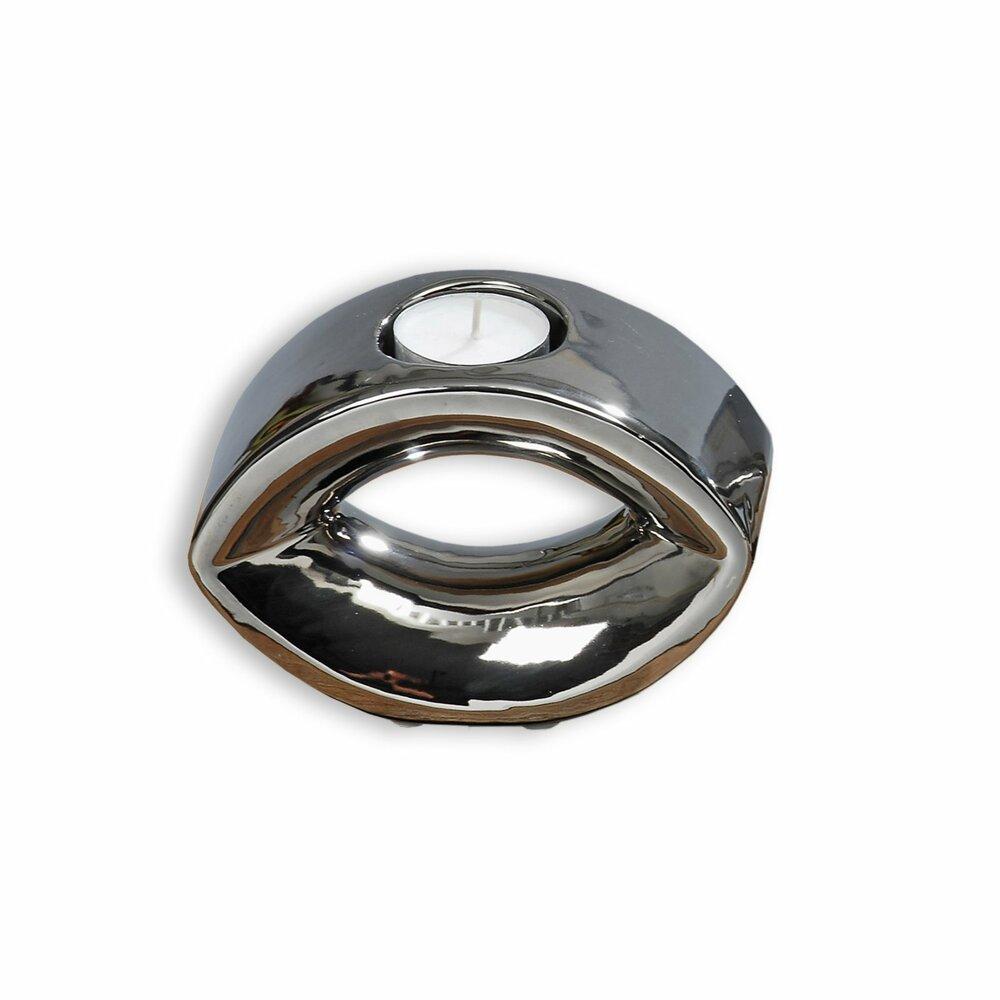 1er teelichthalter pure silber spiegel optik kerzen kerzenhalter deko artikel deko. Black Bedroom Furniture Sets. Home Design Ideas