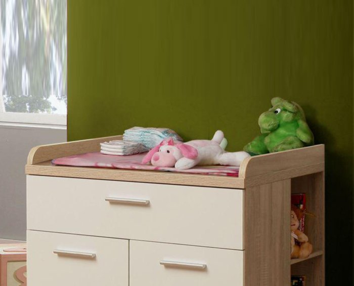 Home Roller Jugendzimmer Winnie. Wickelauflage Winnie Baby Und Kinderzimmer  ...