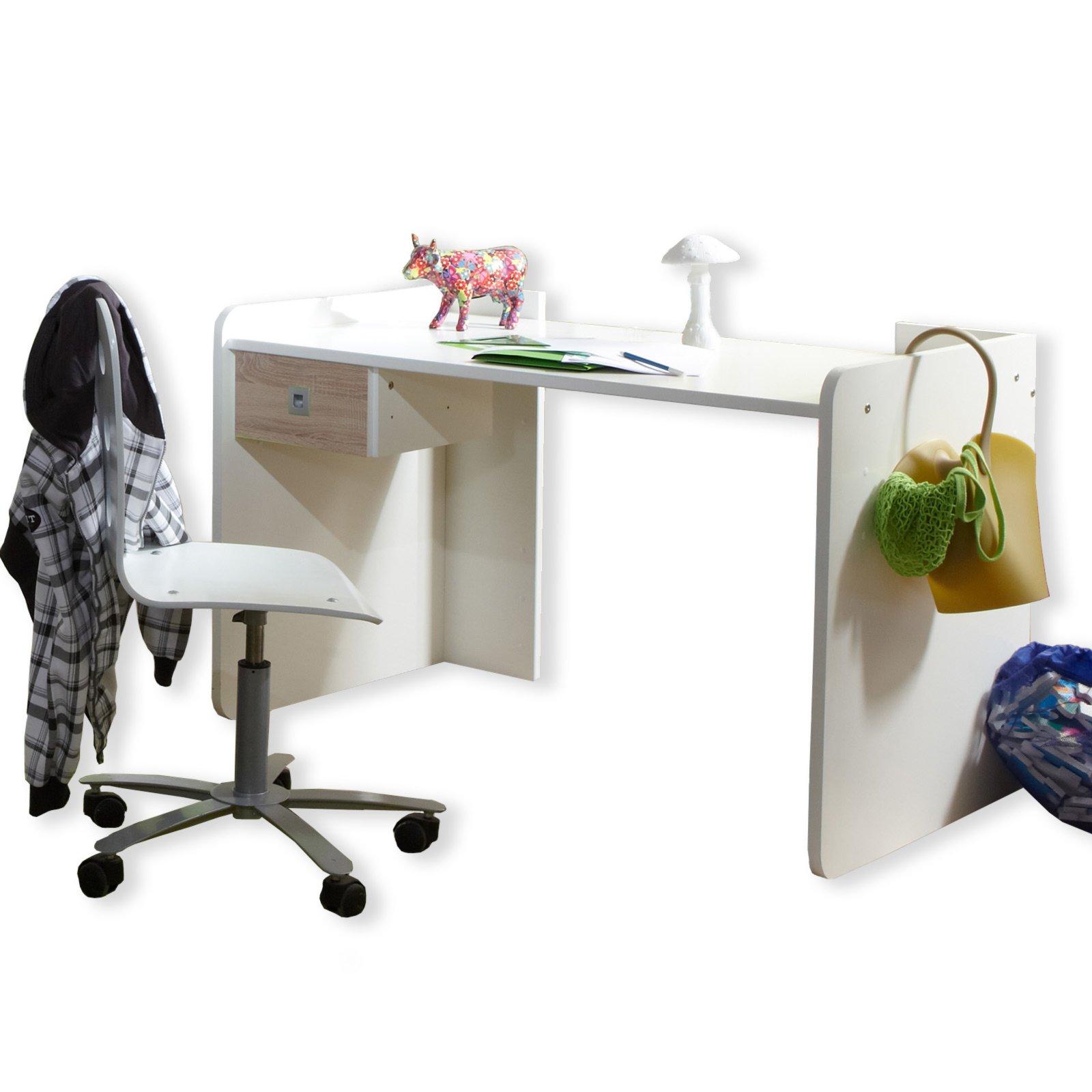 schreibtisch sunny alpinwei 125x77 cm schreibtische m bel m belhaus roller. Black Bedroom Furniture Sets. Home Design Ideas