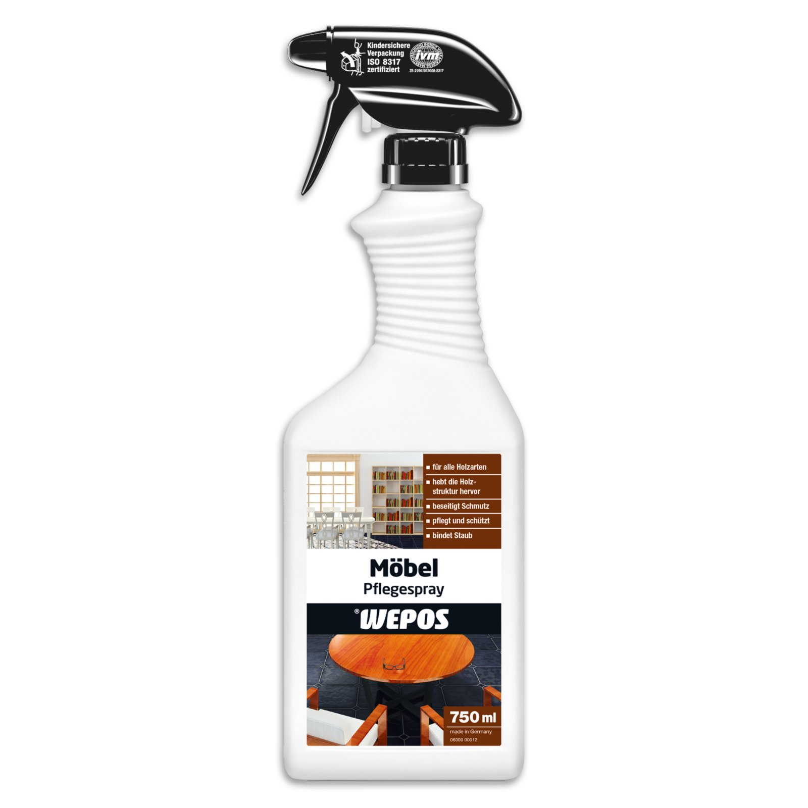 Möbel Pflegespray Wepos - 750 ml